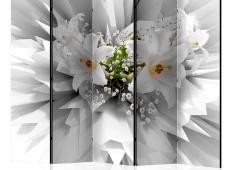 Paraván - Floral Explosion II [Room Dividers]